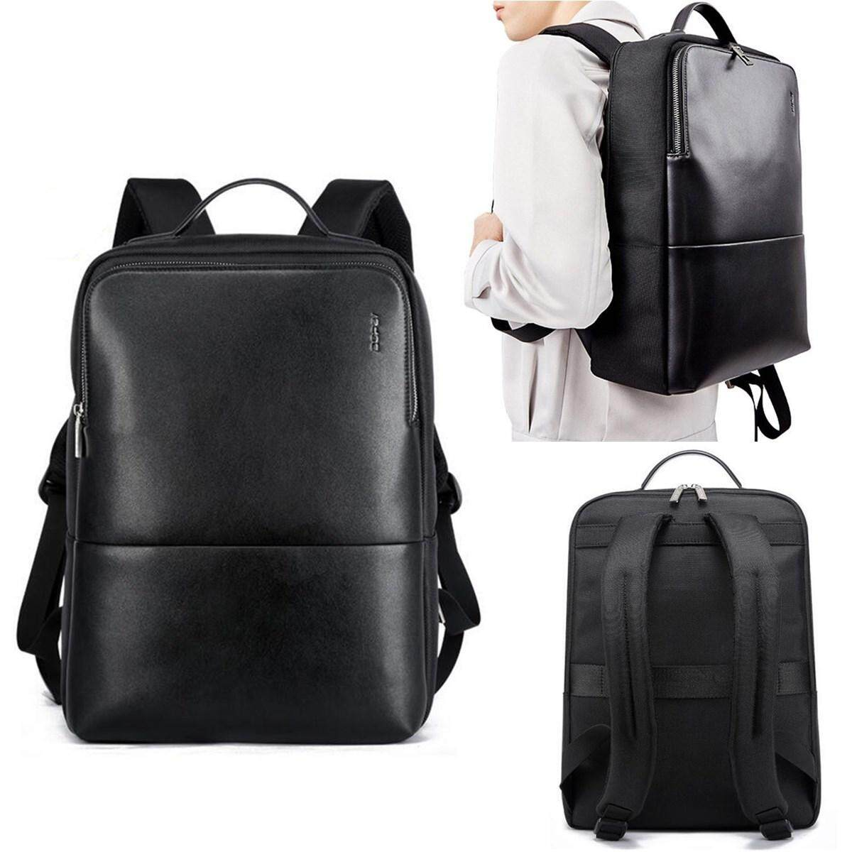 Bopai Leather Backpack for Men 14
