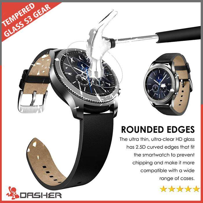 2.5D Tempered Glass Film Screen Protector for Gear S3 Classic SM-R770 S3 Frontier