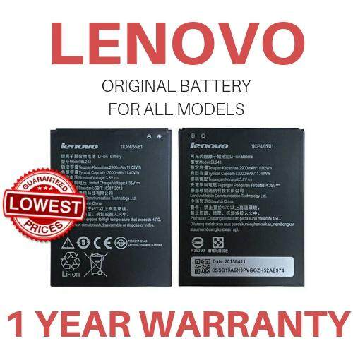 Original Battery For Lenovo BL-210 (LENOVO A516/A536/A656/A658