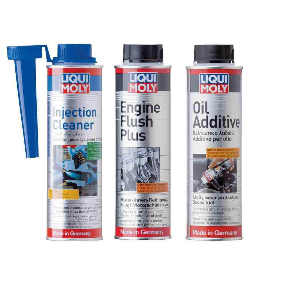 Liqui Moly Engine Flush Injection Cleaner Oil Additive Package
