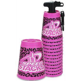 Malaysia Prices ORIGINAL OFFICIAL WSSA SPEED STACKS Sport Stacking Cups zippy Leopard