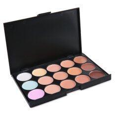 15 Colors Professional Concealer Salon Makeup Party Contour Alat solek