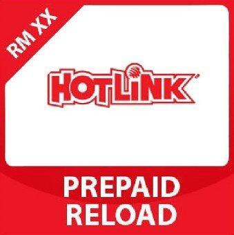 Hotlink RM 50 Direct-to-Phone Reload (Mobile Top Up)