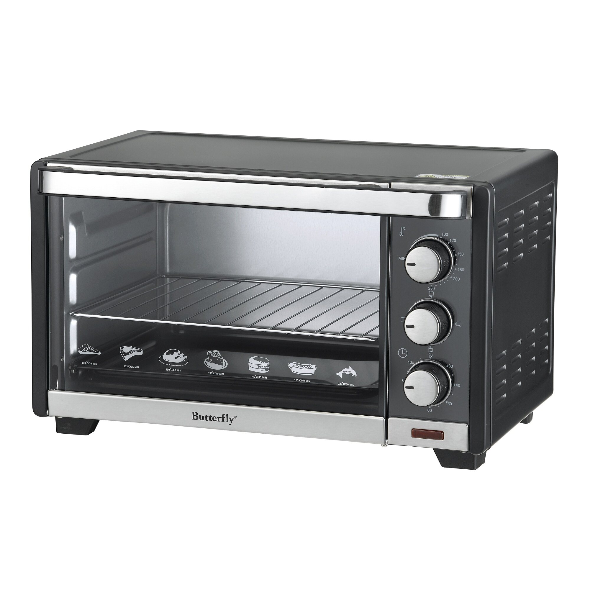 Butterfly Kitchen Appliances Butterfly Beo 1120 Electric Oven 20l Lazada Malaysia