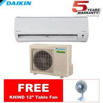 Daikin FTN10P/RN10F 1.0hp EcoKing Wall Mounted Air-Conditioner (R410A)