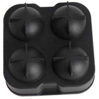 Hang-Qiao Hot Bar Big Round Ball Ice Cube Maker Tray Mould Black