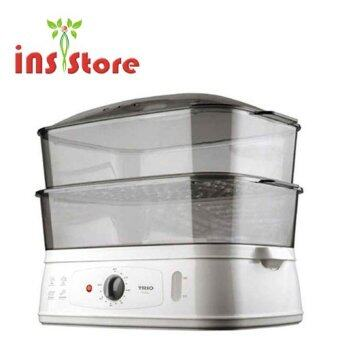Malaysia Prices TRIO TFS-18 2-Tier Jumbo Food Steamer (White)
