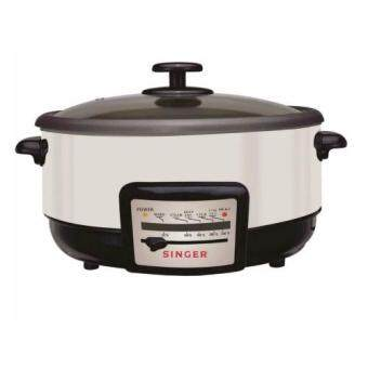 Malaysia Prices Singer MC50A Electric Multi Cooker (White)