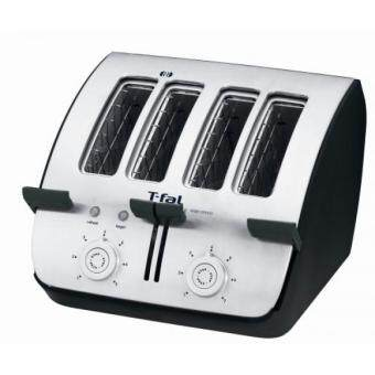 Malaysia Prices T-fal TT7461 Avante Deluxe 4-Slice Toaster with Bagel Function, Black