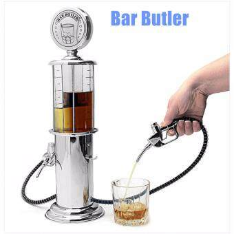Malaysia Prices Dispenser Bar Butler Liquor Pump Metal Single Double Ports Wine Liquid Distributor Mini Soda Beverage Beer Pump Wine Gas Station- Single Port