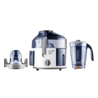 Malaysia Prices Trio TJEX-253 3 In 1 Juice Extractor 0.4L (white)
