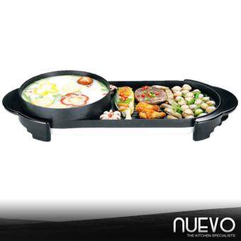 Malaysia Prices Nuevo 2 in 1 Multi-functional Grill Pan BBQ Electric Grill