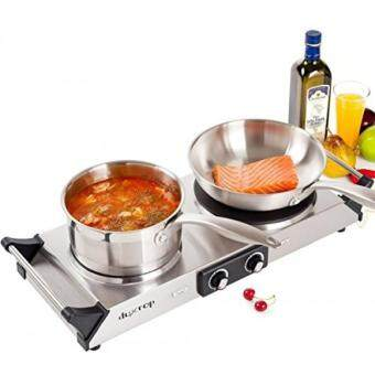 Malaysia Prices GPL/ DUXTOP 1800W Portable Electric Cast Iron Cooktop Countertop Burner (Double)/ship from USA