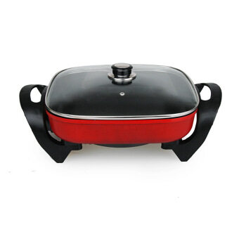 Malaysia Prices Korean Multi-function Electric Cooker Household Square Hot Pot Electric Woks Roasting Pan Non Stick Cooker