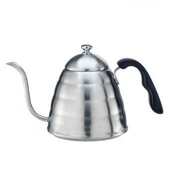 Malaysia Prices Tiamo Stainless Steel Narrow Spout Kettle 0.9L HA1621 with FREE SHIPPING