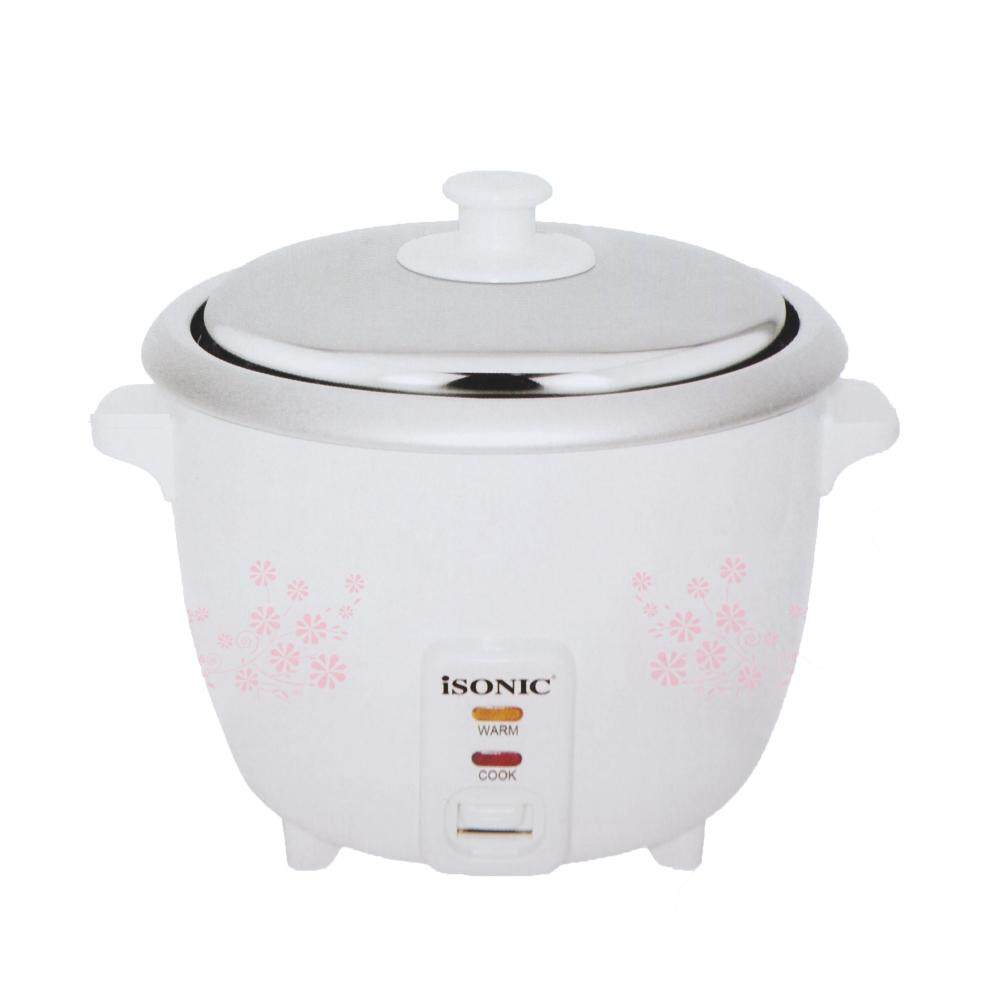 Non Stick Kitchen Appliances Isonic Rice Cooker 10l Removable Non Stick Iso Irc 1007 Lazada