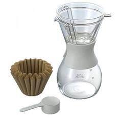 Kalita Coffee Dripper Tsubame Wdc 185 2 4 Person Use Copper 5099