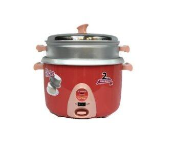 product analysis of khind rice cooker Features & consumer benefit :- cooking and keep warm indicator thermal  fuse protection to prevent overheating stainless steel lid cool touch handle .