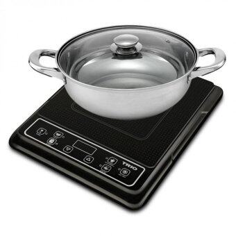 trio portable induction cooker with cookware set 1800w. Black Bedroom Furniture Sets. Home Design Ideas