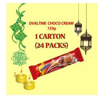 Malaysia Prices Ovaltine Chocolate Malt Cookies (1 carton)