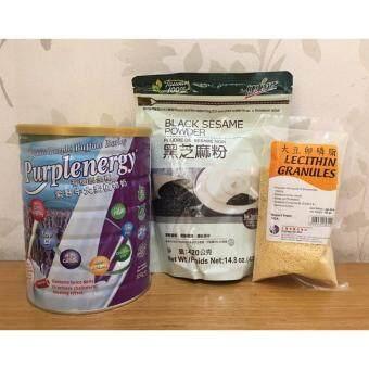 Malaysia Prices Organic Purple Barley with Oat, Organic Lecithin & Organic Black Sesame