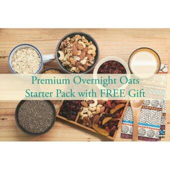 Malaysia Prices Premium Overnight Oats Starter Packs + FREE GIFTS worth RM 156.00