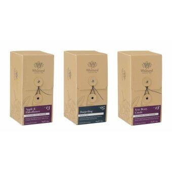 Malaysia Prices Whittard of Chelsea Apple Elderflower//Darjeeling/Very Berry Crush Fruit Infusion Tea (25Teabags x 3 boxes)