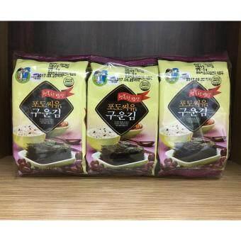 Malaysia Prices BUBU FOOD Korean Roasted Seaweed Snack - Grape Seed Oil 5g x 108 pkt