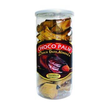 Malaysia Prices 12 Unit Choco Palm Chocolate DATES Almond 400g - Free Shipping