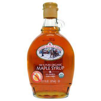 Malaysia Prices SHADY MAPLE FARMS 100% Pure Organic Maple Syrup US Grade A 375ml