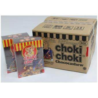Malaysia Prices CHOKI CHOKI Chococashew 60 sticks Free 36 Boboiboy Game Card (8 Pack/1 Carton Value Buy)