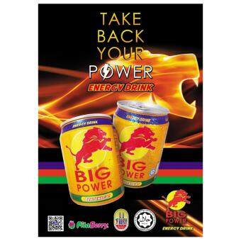 Malaysia Prices Energy Drink BIG POWER (24 cans X 30 cartons)