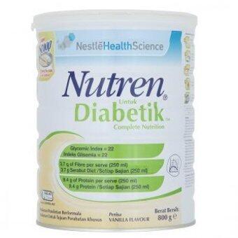 Malaysia Prices Nutren Diabetik Complete Nutrition Vanilla 800g