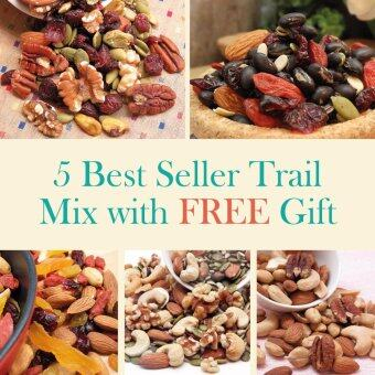 Malaysia Prices 5 Best Seller Trail Mix + FREE GIFTS worth RM 78.00