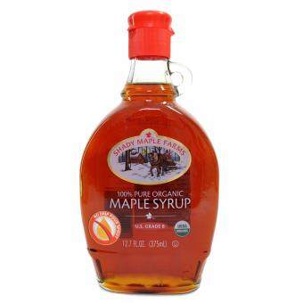 Malaysia Prices SHADY MAPLE FARMS 100% Pure Organic Maple Syrup US Grade B 375ml