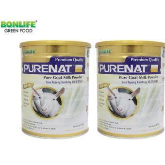 Malaysia Prices Bonlife Purenat Premium Goat Milk Powder, 800g (TWIN PACK)
