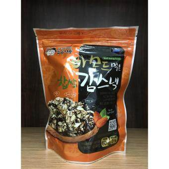 Malaysia Prices BUBU FOOD Korean Almond Rice Seaweed Snack 60g - Packet of 20 (RM 15 / pkt)