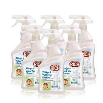 Malaysia Prices Enveo Rich Fridge & Table Top Cleanser 500ml X6 Pack