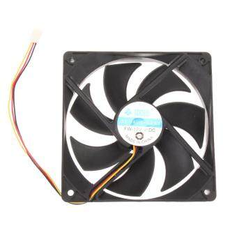 120mm 120x25mm 12V 3Pin DC Brushless PC Computer Case Cooling Fan