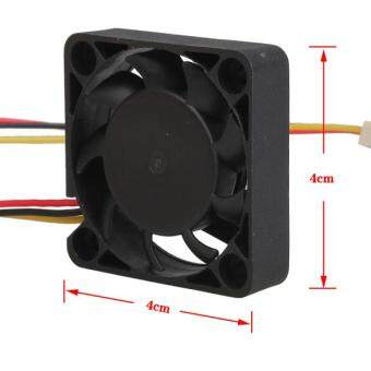 3 Pin 40mm Computer CPU Cooler Cooling Fan PC 4cm 40x40x10mm DC 12V