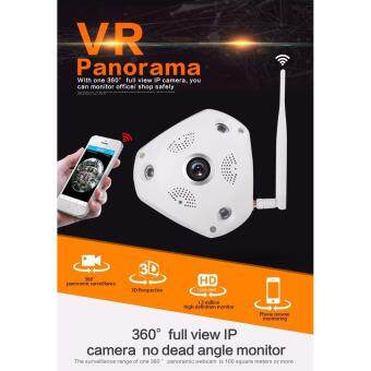 360 Degree VR Panorama Camera HD 960P Wireless WIFI IP Camera Home Security Surveillance System Video Camera Webcam CCTV