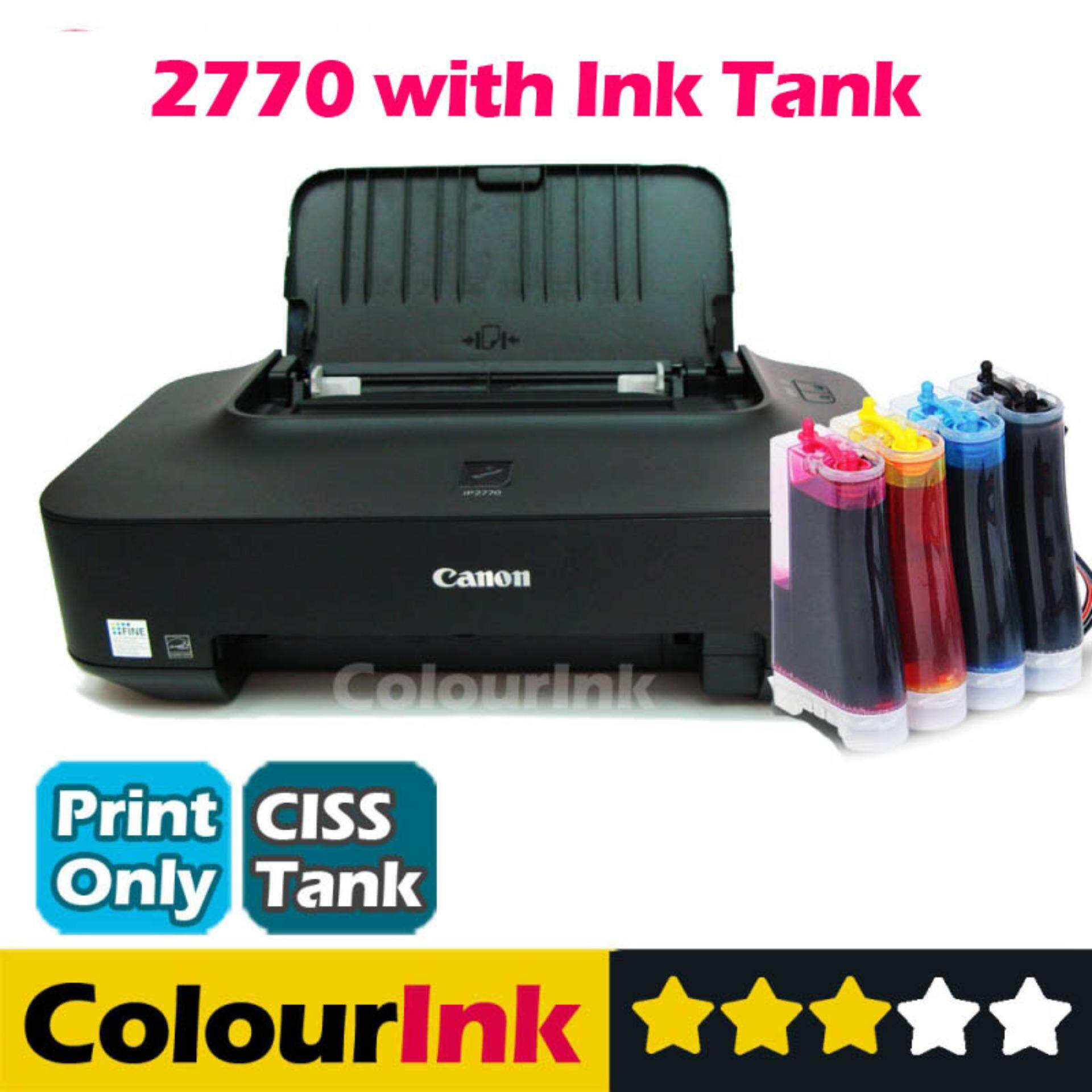 color printing malaysia : Canon Ip 2770 With Ciss
