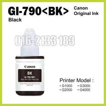 Canon Original Ink (GI-790 Black) // Canon Printer G1000 / G2000 /G3000 / G4000