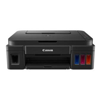 Canon Pixma Ink Efficient G3000 Refillable Wireless Ink ColorPrinter (Black)