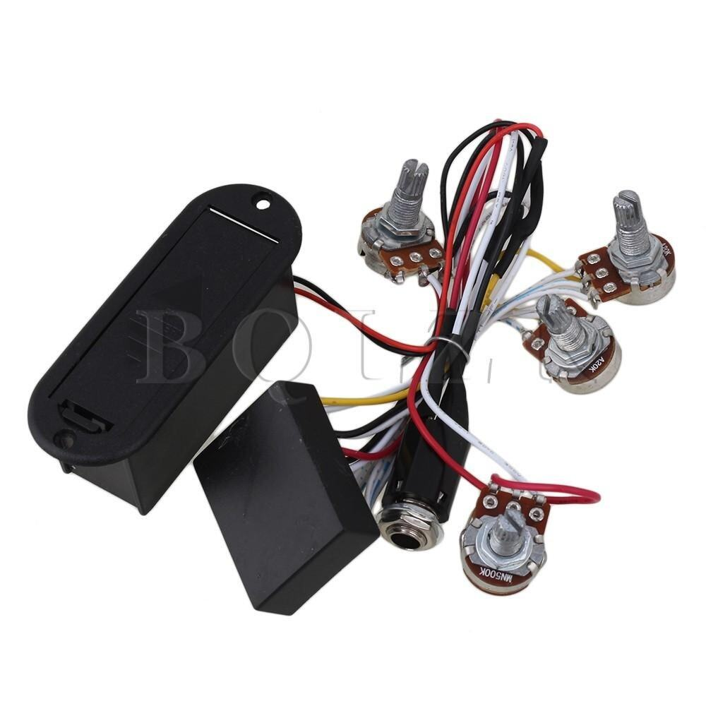 eq preamp circuit for active bass pickup lazada