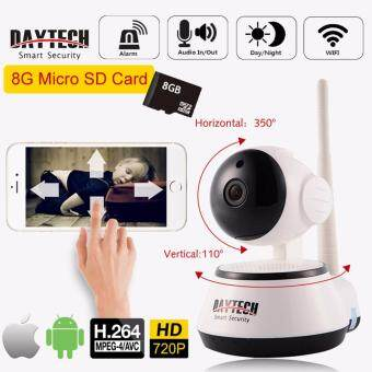 FREE 8G CARD IP Camera Home Security Camera CCTV Wireless Wifi Mobile Remote Camera Night Vision Motion Detect P2P Network 720P