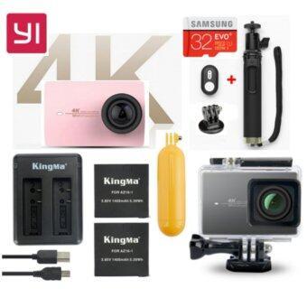 (Genuine) Xiaomi XiaoYi Yi 4K 12MP Sport Action Camera International Version Ultimate Bundle Pack - ROSE GOLD