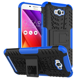 Heavy Duty Rugged Hybrid Dual Layer Kickstand Shockproof Protective Case Cover for ASUS ZenFone Max Case