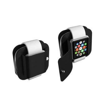 Portable Charging Wallet for Apple Watch Series 1/2 Soft Silicone Charge Holder Stand Charging