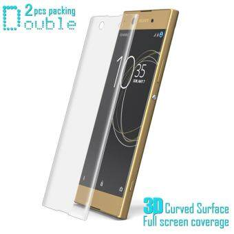 IMAK Full Screen Soft Tempered Glass Protector Film For Sony XperiaXA1 Soft Protector Film For Sony Xperia XA1